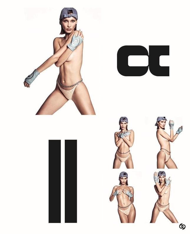 Bella Hadid bán nude 'rực lửa' ảnh 6