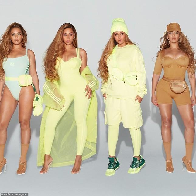 Beyonce rực lửa với đường cong đẫy đà ảnh 3