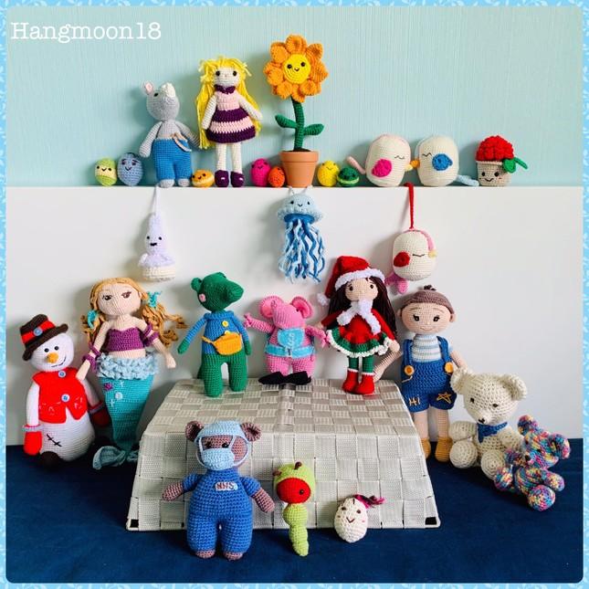 Mẹ Việt ở Anh làm 'thế giới đồ chơi handmade' sinh động cho con ảnh 3