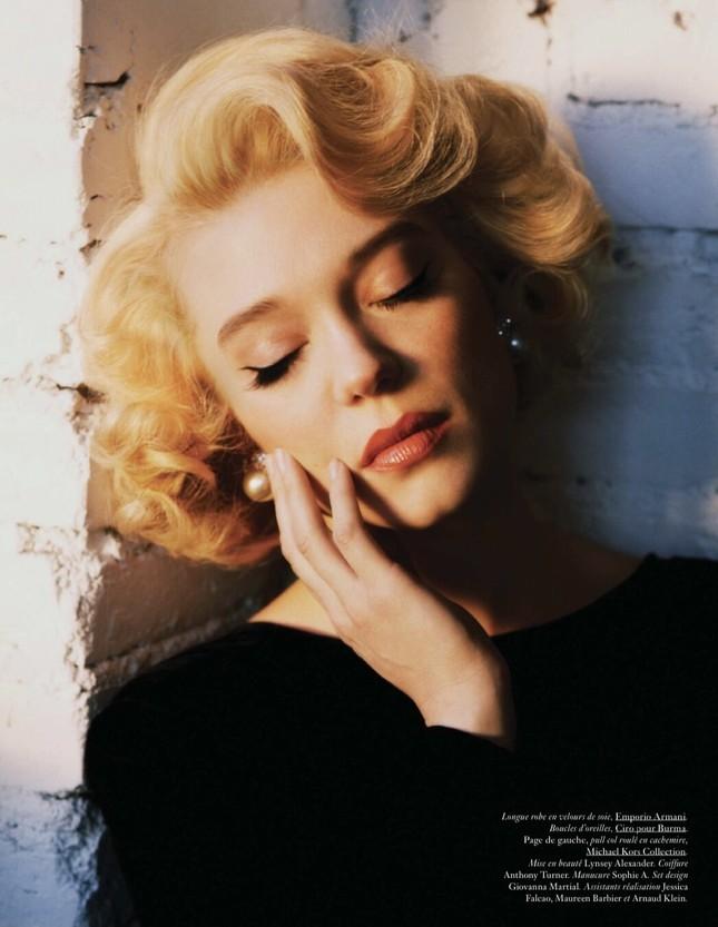 'Bông hồng nước Pháp' thả dáng bốc lửa khi hóa thân huyền thoại Marilyn Monroe ảnh 5