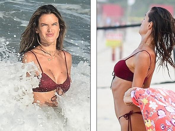 Nữ thần áo tắm Brazil thu hút mọi ánh nhìn trên biển ảnh 7