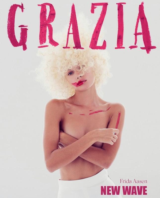 Vẻ đẹp thiên thần của nàng mẫu Na Uy Frida Aasen ảnh 9