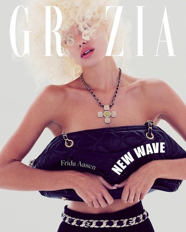 Vẻ đẹp thiên thần của nàng mẫu Na Uy Frida Aasen ảnh 7