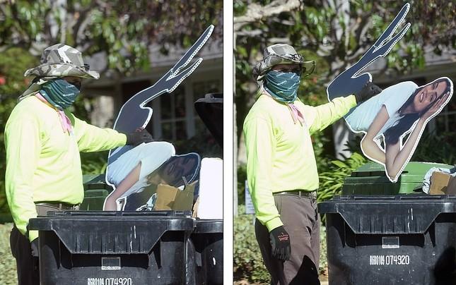 Sau chia tay, tài tử Ben Affleck vứt ảnh bạn gái vào thùng rác ảnh 4