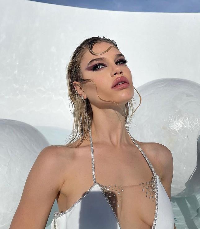 Vẻ đẹp bốc lửa của nàng mẫu Mỹ giống hệt bạn gái 'Người vận chuyển' ảnh 5