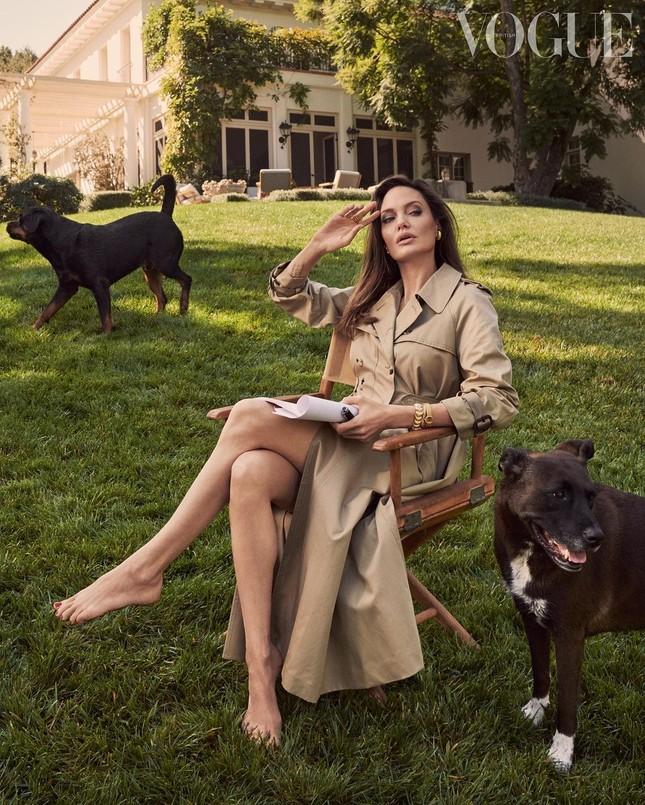 Angelina Jolie 45 tuổi quyến rũ với thần thái đỉnh cao ảnh 1