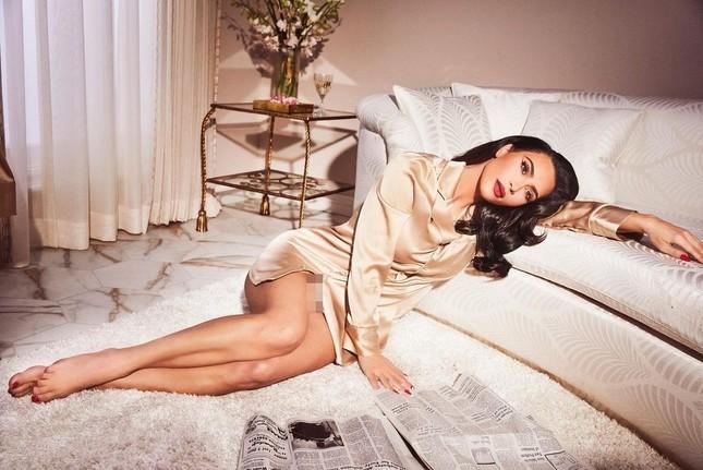 Kim Kardashian 40 tuổi vẫn quyến rũ làm say lòng phái mạnh ảnh 2