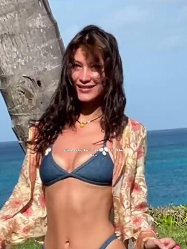Bella Hadid khoe đường cong siêu mẫu ảnh 2