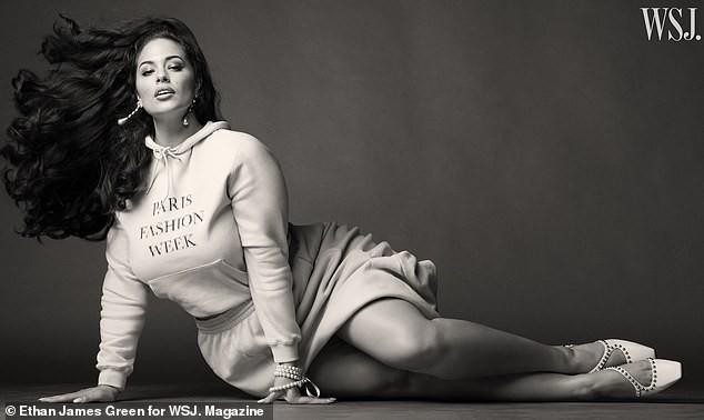 Người mẫu béo Ashley Graham tự tin với đường cong ngoại cỡ ảnh 4