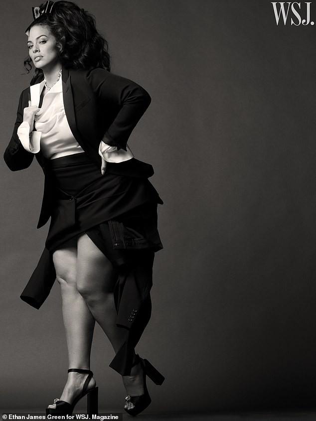 Người mẫu béo Ashley Graham tự tin với đường cong ngoại cỡ ảnh 5