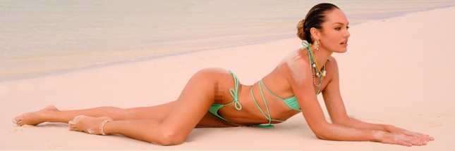 Sắc vóc rực lửa của mỹ nhân độc thân quyến rũ Candice Swanepoel ảnh 1