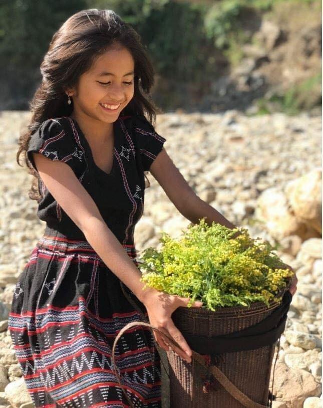 Cô bé Pa Cô với nụ cười rạng rỡ được gọi là 'bông hoa của núi rừng' ảnh 3