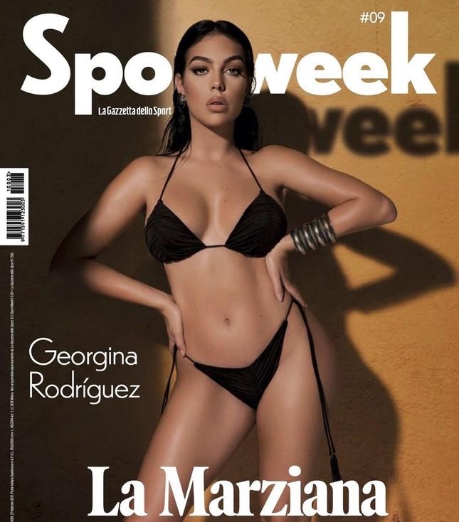 Mỹ nhân nóng bỏng Georgina Rodriguez hé lộ về cuộc sống bên Ronaldo ảnh 1