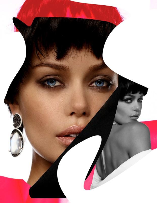 Nàng mẫu 9x được khen giống hệt Angelina Jolie thời trẻ ảnh 1