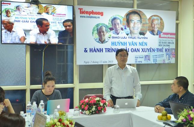 Giao lưu trực tuyến: 'Huỳnh Văn Nén – Hành trình giải oan xuyên thế kỷ' ảnh 7