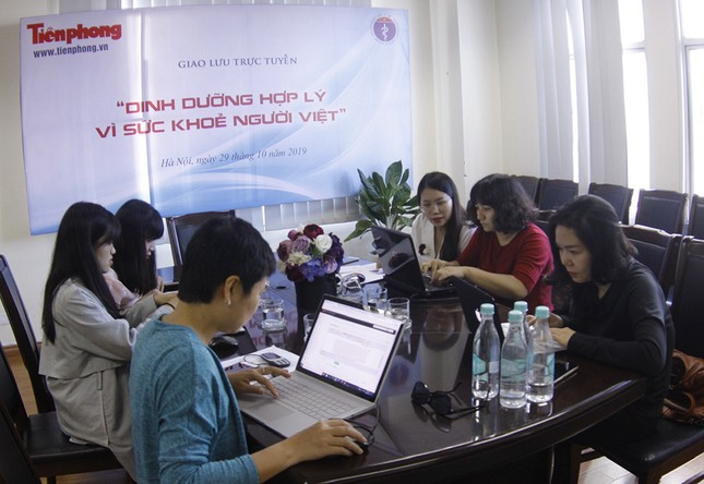 Giao lưu trực tuyến: Dinh dưỡng hợp lý vì sức khỏe người Việt ảnh 7