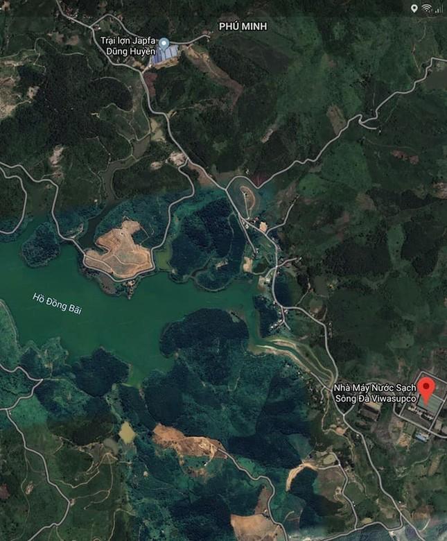 Trại lợn hơn 2.000 con có ảnh hưởng nguồn nước sạch sông Đà? ảnh 1