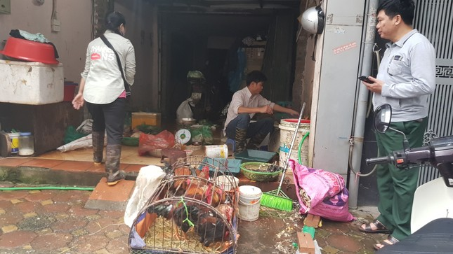 Hà Nội: Giá thịt lợn, thịt gà tăng kỷ lục, người dân chen nhau mua 30 Tết ảnh 9