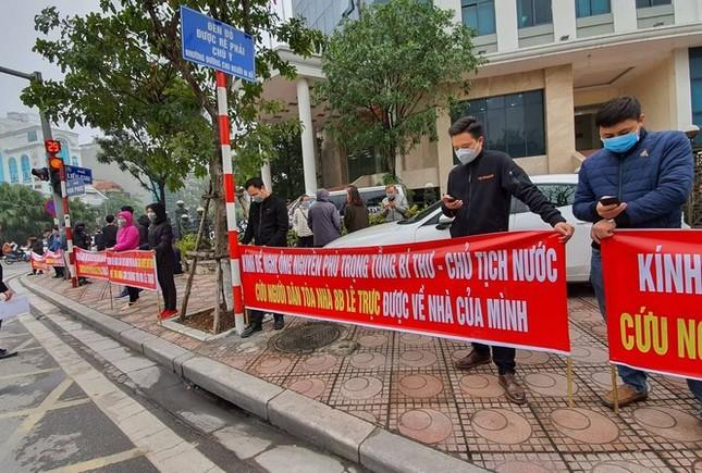 Người mua nhà 8B Lê Trực gửi kiến nghị đến tân Bí thư Thành ủy Hà Nội ảnh 1