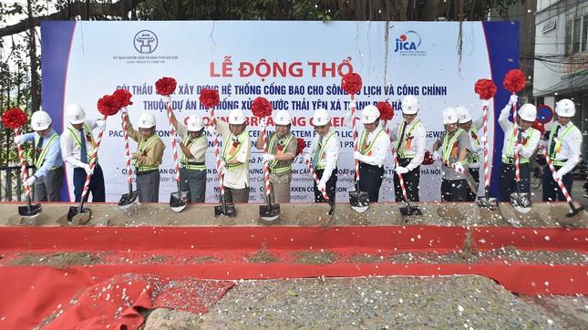 Xây dựng đường ống dài 50km gom nước thải, hồi sinh sông Tô Lịch ảnh 7
