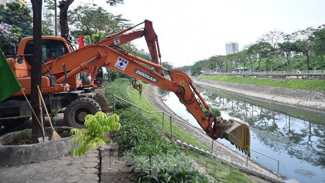 Xây dựng đường ống dài 50km gom nước thải, hồi sinh sông Tô Lịch ảnh 8