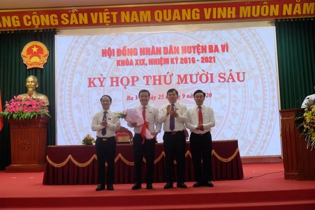 Ông Đỗ Mạnh Hưng được bầu làm Chủ tịch UBND huyện Ba Vì ảnh 1