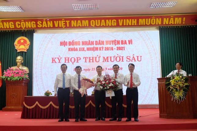 Ông Đỗ Mạnh Hưng được bầu làm Chủ tịch UBND huyện Ba Vì ảnh 2