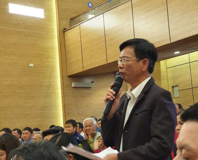 Lãnh đạo Thành ủy Hà Nội đối thoại với người dân khu xử lý rác Nam Sơn ảnh 1