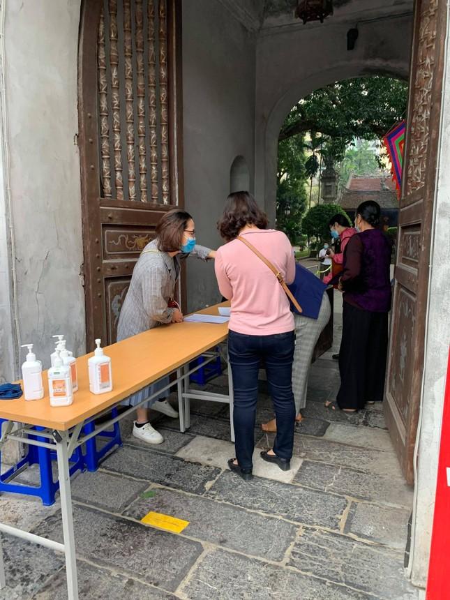 Hà Nội: Chủ tịch các phường chịu trách nhiệm về chống dịch tại di tích ảnh 4