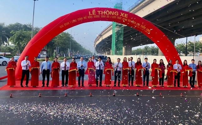 Thông xe đường vành đai Mai Dịch-Cầu Thăng Long rộng 16 làn ảnh 1