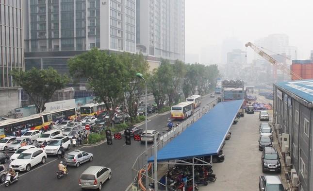 Cận cảnh các công trình thi công 'rùa' gây ô nhiễm bụi ảnh 7