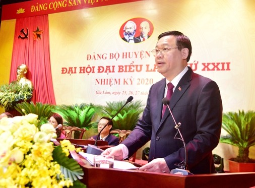 Hà Nội có bí thư đầu tiên bầu trực tiếp tại Đại hội Đảng cấp huyện ảnh 1