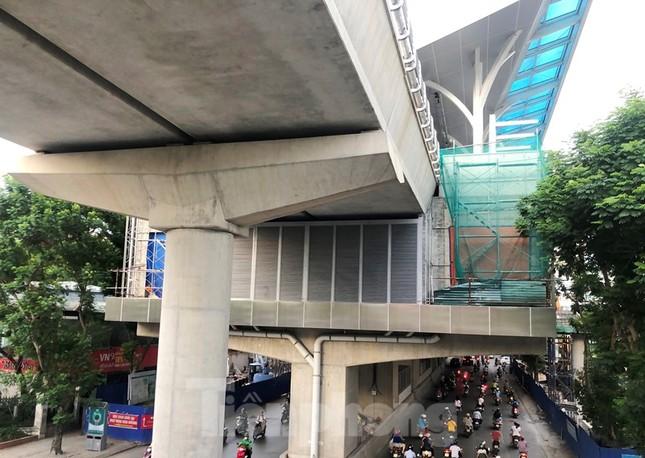 Cận cảnh đoạn metro Hà Nội vừa bị đòi bồi thường 19 triệu USD ảnh 3