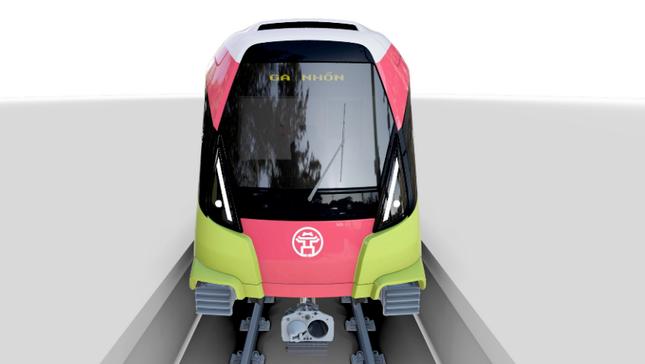 Ngày mai đoàn tàu metro Nhổn - ga Hà Nội cập cảng Hải Phòng ảnh 1
