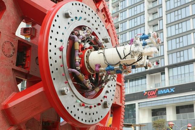 Tận thấy lắp ráp robot đào hầm khủng tuyến metro Nhổn - ga Hà Nội ảnh 10