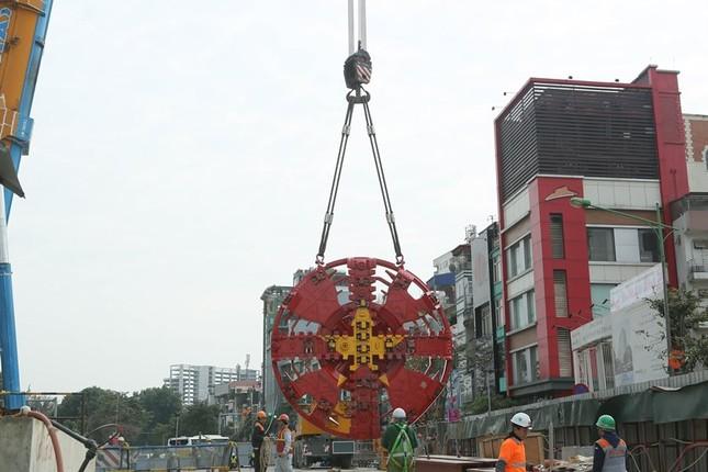 Tận thấy lắp ráp robot đào hầm khủng tuyến metro Nhổn - ga Hà Nội ảnh 3