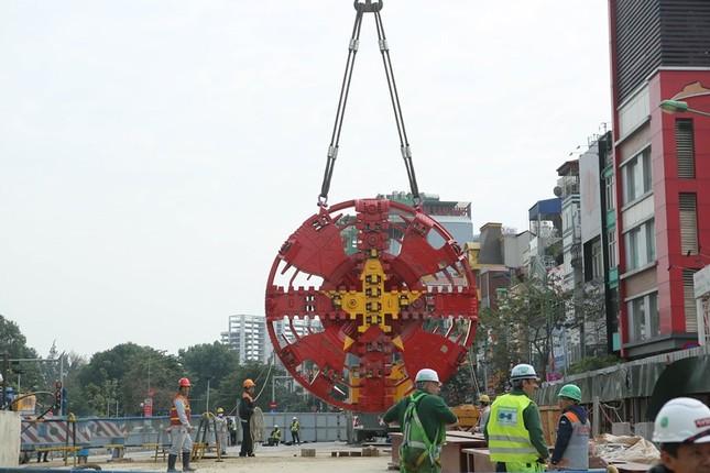 Tận thấy lắp ráp robot đào hầm khủng tuyến metro Nhổn - ga Hà Nội ảnh 4