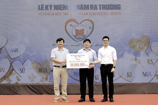 Thế hệ khoá Lam Sơn 2002-2005 hân hoan ngày trở về ảnh 4