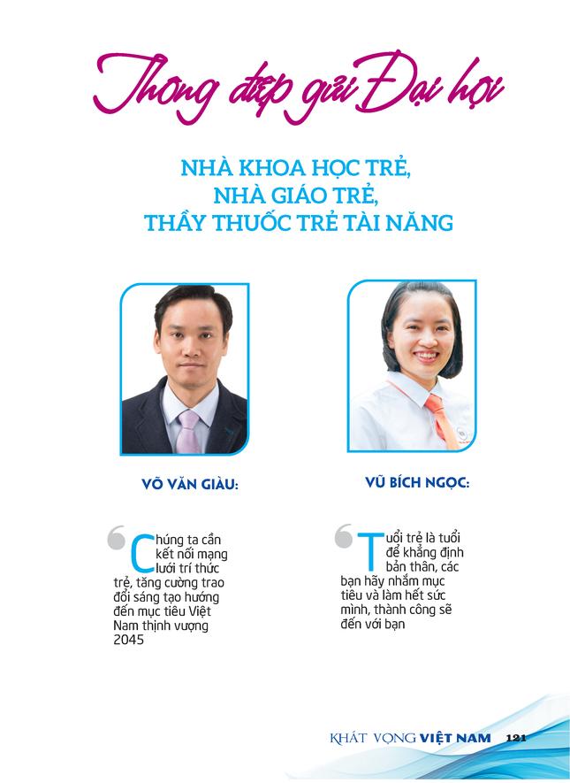 Thông điệp gửi tới Đại hội Tài Năng Trẻ Việt Nam ảnh 1