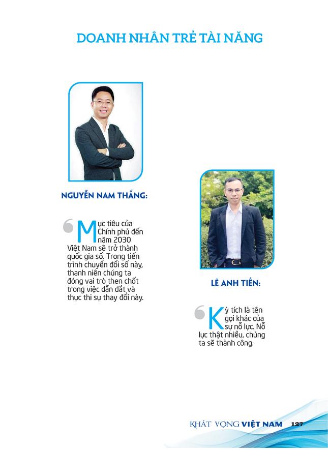 Thông điệp gửi tới Đại hội Tài Năng Trẻ Việt Nam ảnh 7