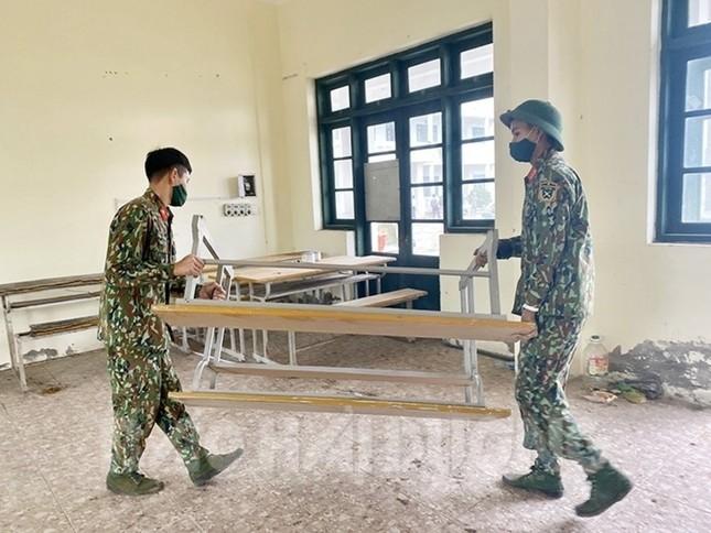 Đại học Sao Đỏ, Chí Linh, Hải Dương tiếp tục chung tay chống COVID-19 ảnh 3