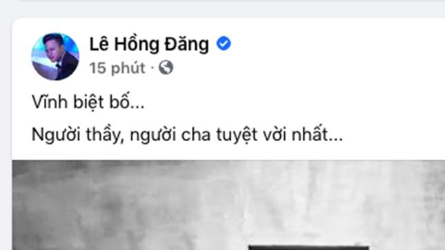 """Việt Anh đau đớn khi nghe tin """"bố"""" Hoàng Dũng mất ảnh 4"""