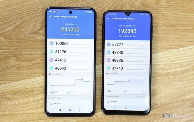 """Redmi Note 9s vs. Galaxy M31: """"Mãnh thú"""" nhà Xiaomi và Samsung khác nhau như thế nào? ảnh 31"""