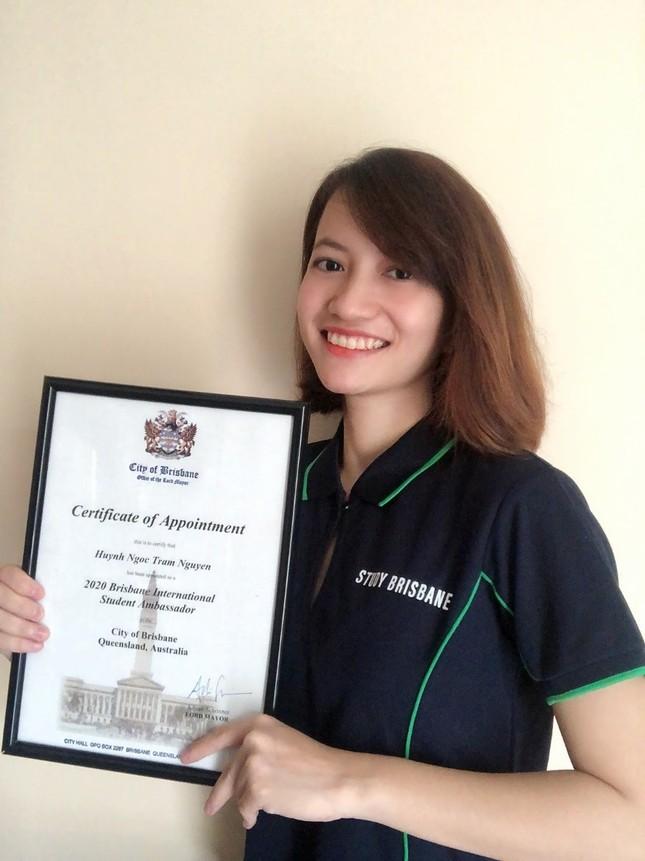 Hai du học sinh Việt Nam tại Úc được bổ nhiệm Đại sứ sinh viên quốc tế Brisbane ảnh 1
