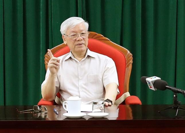 Tổng Bí thư, Chủ tịch nước chủ trì họp lãnh đạo chủ chốt  ảnh 1