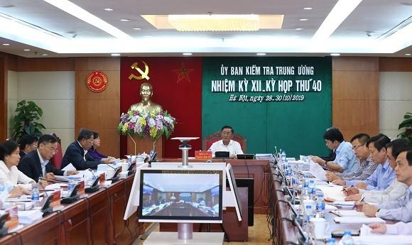Cảnh cáo nguyên Phó Tổng cục trưởng Tổng cục An ninh Trình Văn Thống ảnh 1