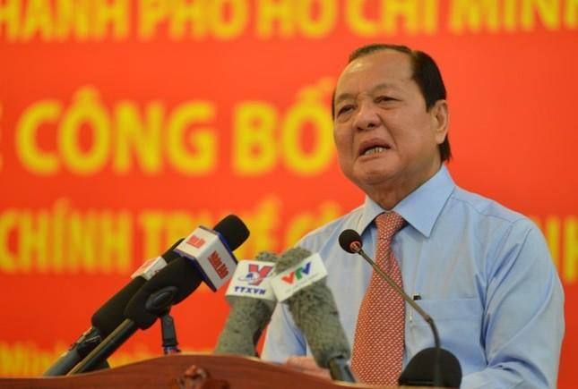 Ông Lê Thanh Hải bị cách chức nguyên Bí thư TPHCM ảnh 1