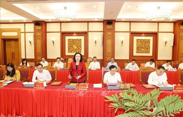 Tổng Bí thư, Chủ tịch nước chủ trì buổi làm việc với Ban Thường vụ Thành ủy Hà Nội ảnh 2