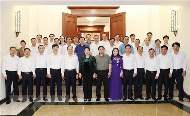 Bộ Chính trị hoàn thành chương trình làm việc với 67 đảng bộ trực thuộc Trung ương ảnh 2