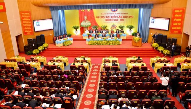 Thường trực Ban Bí thư chỉ đạo Đại hội Đảng bộ Tuyên Quang ảnh 1